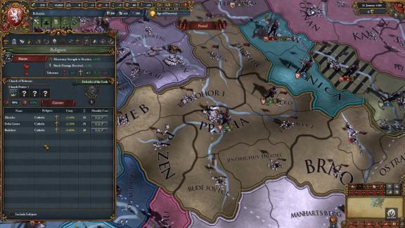 Do Europa Universalis IV dorazili husité