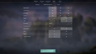 Nastavení Valorant – nejvyšší detaily