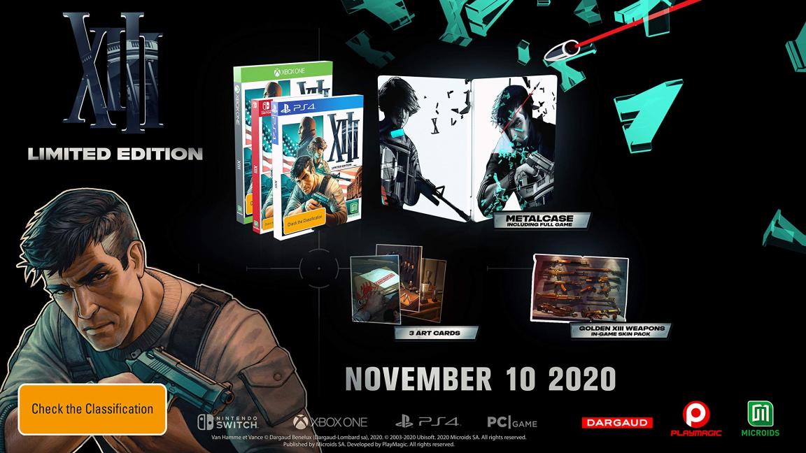 Remake komiksové střílečky XIII vyjde podle všeho v listopadu