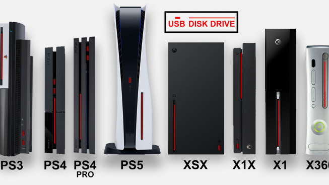 PlayStation 5 srovnání velikostí