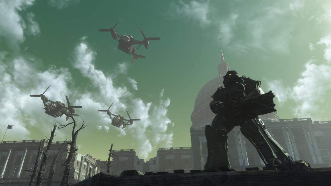 Vývoj modu předělávajícího Fallout 3 do enginu čtyřky se opět rozjíždí