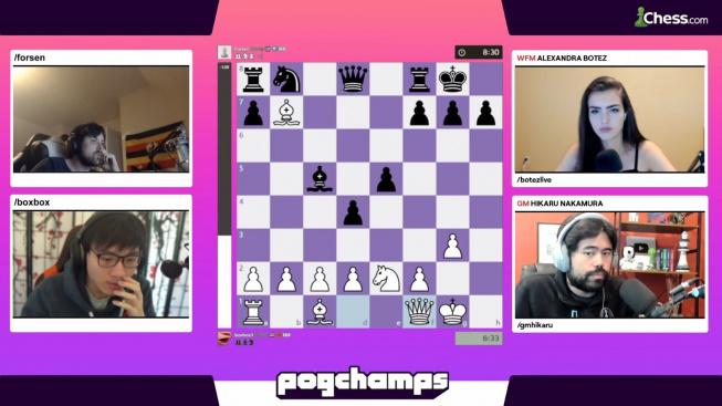 Šachy ovládnuly platformu Twitch
