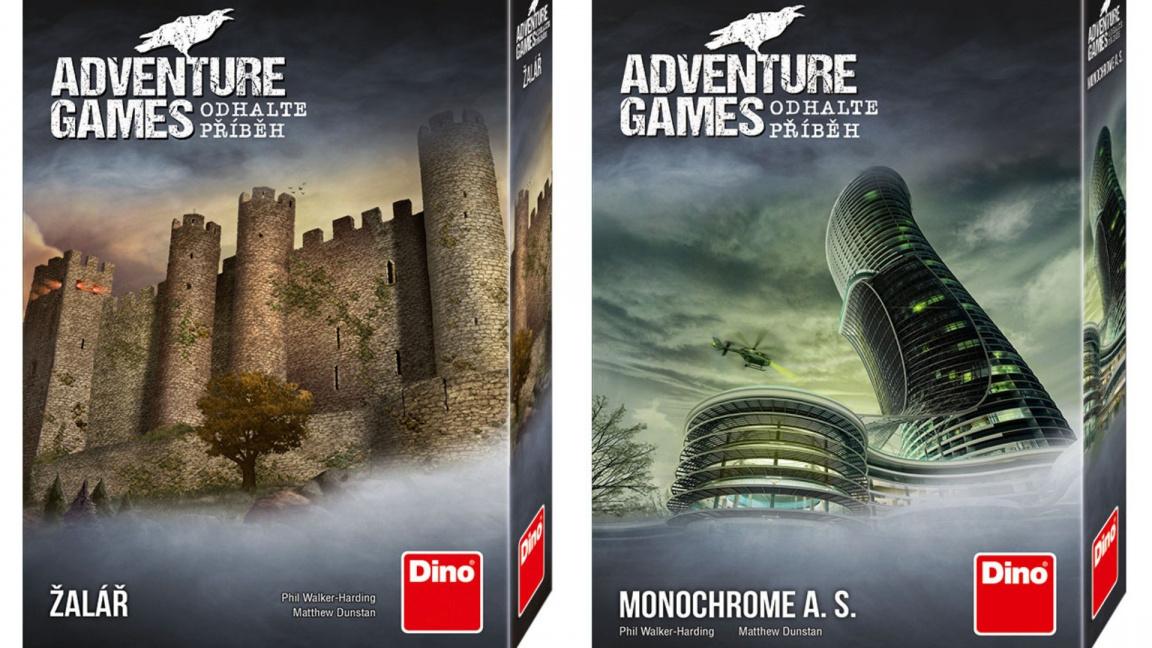 Deskovky z řady Adventure Games: Skvělé stolní point and click adventury
