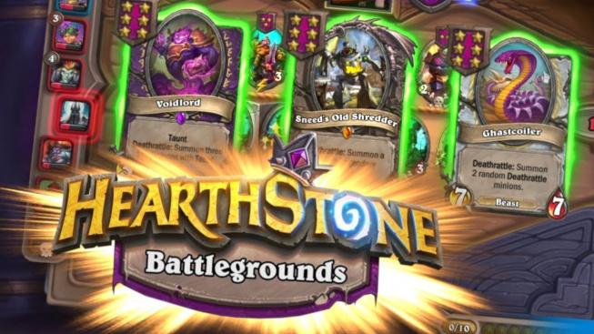 Hearthstone v nejnovějším updatu znatelně upravuje Battlegrounds