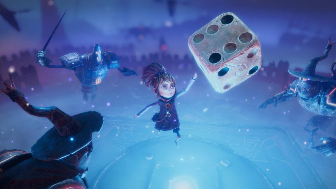 Akční RPG Lost in Random láká na milou stylizaci i na házení oživlou kostkou