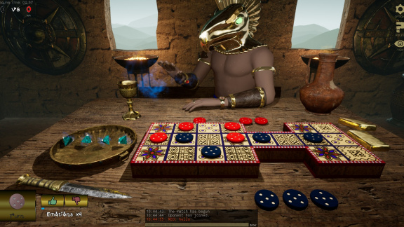 Ur Game: The Game of Ancient Gods