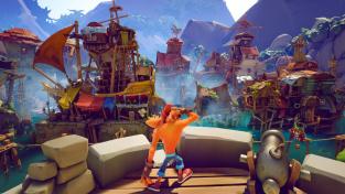 Konzolová exkluzivita Crash Bandicoot 4 vychází už za několik dní a vypadá skvěle
