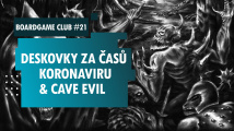 Boardgame Club #21 o Cave Evil