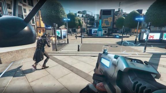 Ubisoft má brzy vydat free-to-play sci-fi battle royale Hyper Scape
