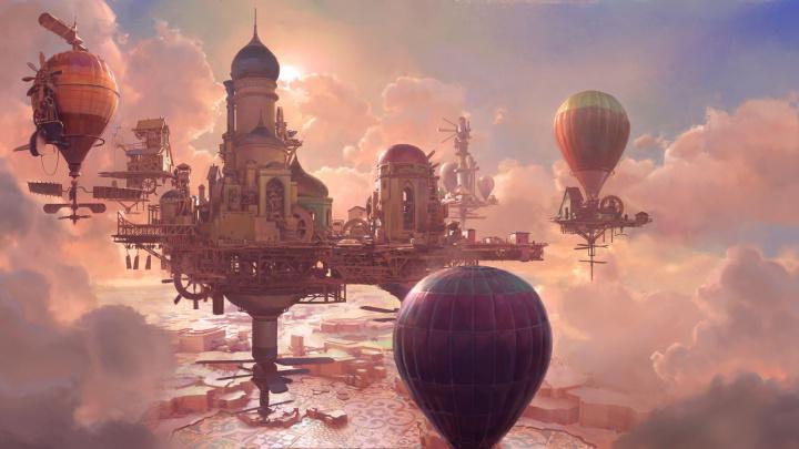 V budovatelské strategii Airborne Kingdom stavíte létající město