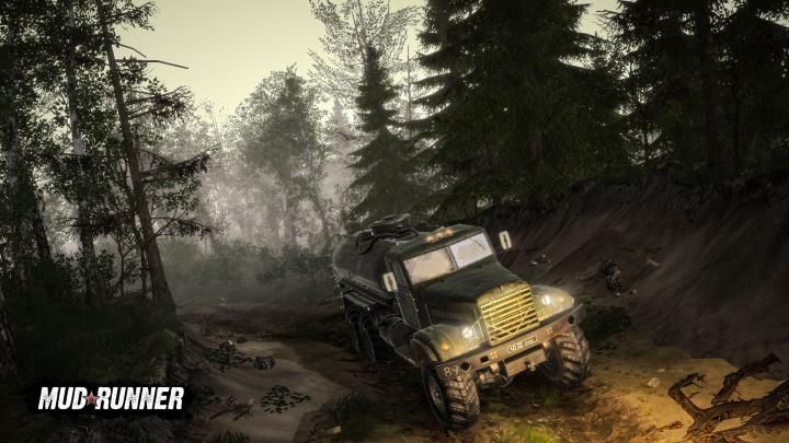 Offroadový simulátor Spintires: MudRunner vyjde na mobilech