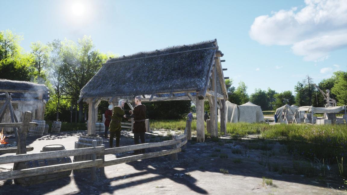 Manor Lords předvádějí, jak by Kingdom Come vypadalo jako strategie