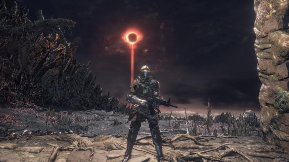 Je pro vás Dark Souls 3 moc těžké? Zkuste mód s automatickými palnými zbraněmi