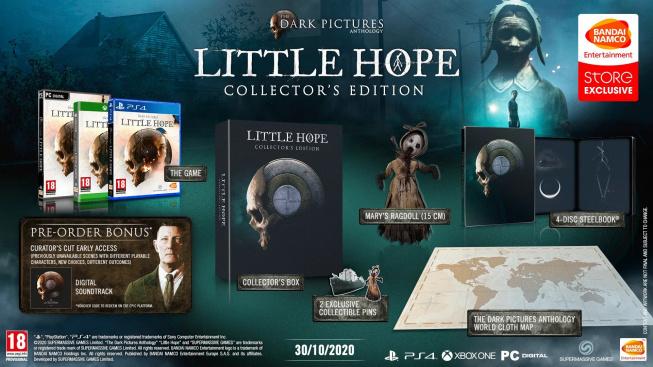 The Dark Pictures Anthology Little Hope sběratelská edice