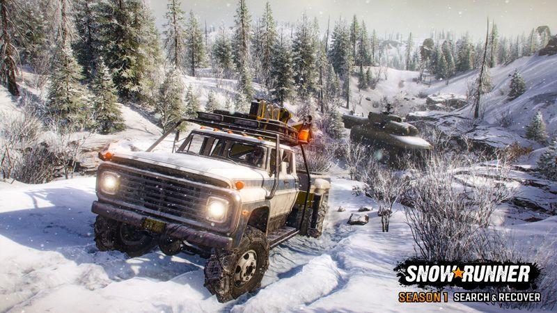 SnowRunner: Season 1 - Search & Recover