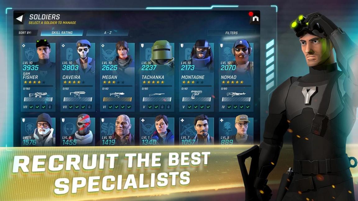 Mobilní Elite Squad povolá do akce všechny hrdiny Toma Clancyho