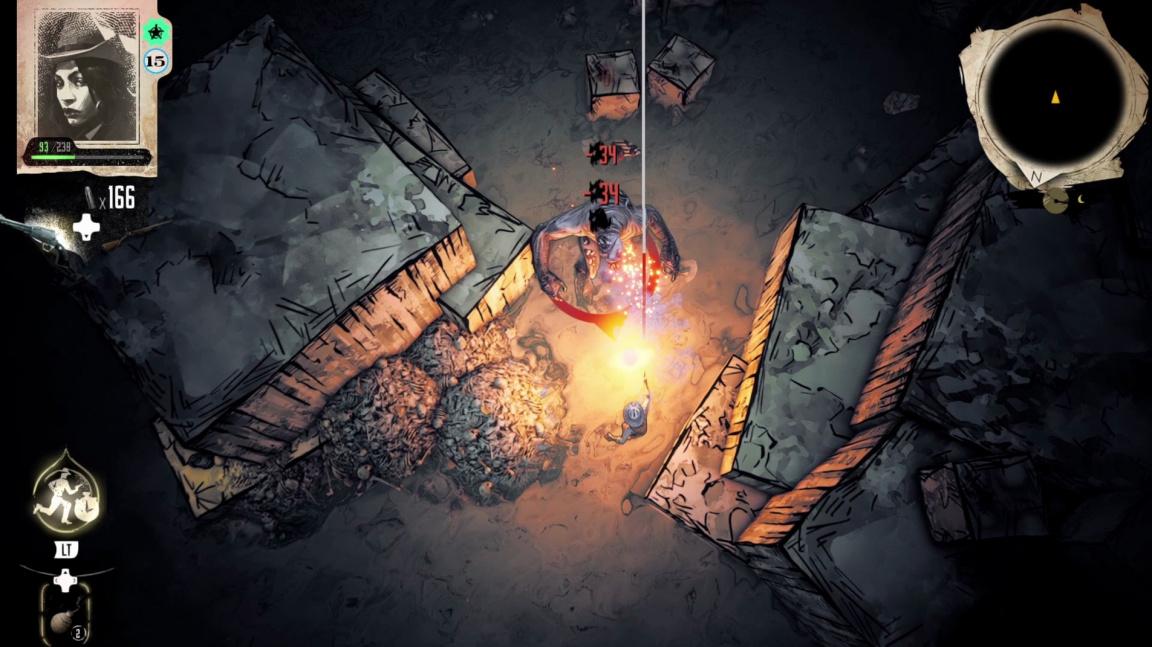 V akčním RPG Weird West bude Divoký západ reagovat na každé vaše rozhodnutí