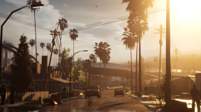 San Andreas v Unreal Engine 4