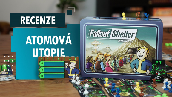 Fallout Shelter – videorecenze stolní atomové utopie