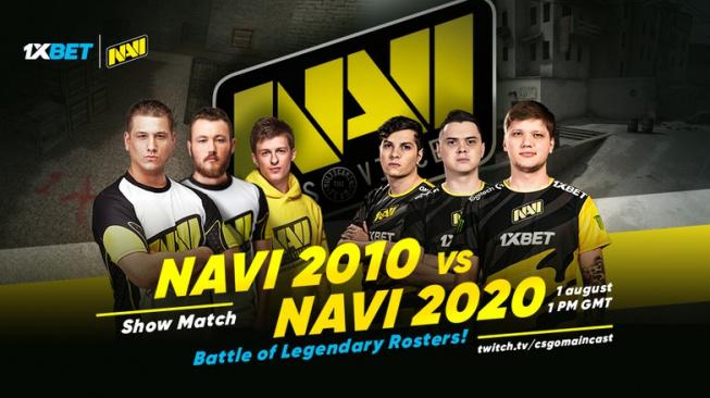 CS:GO čeká zápas dvou generací. Navi 2010 vs. Navi 2020