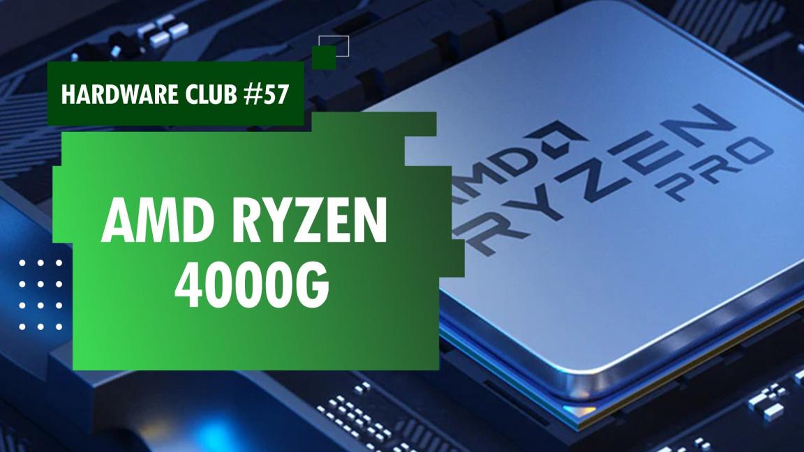 Hardware Club #57: AMD Ryzen 4000G a další novinky