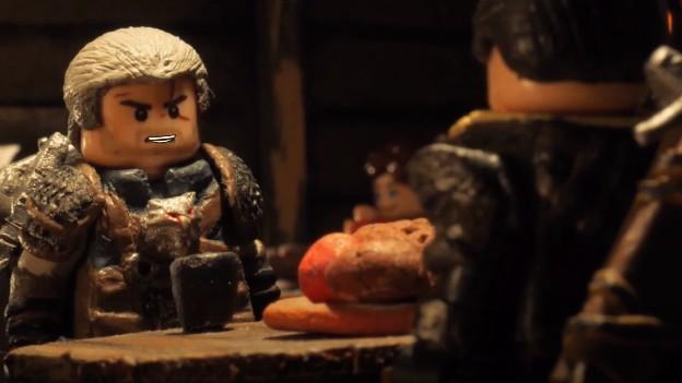 Sledujte Lego Zaklínače v krátkém filmu