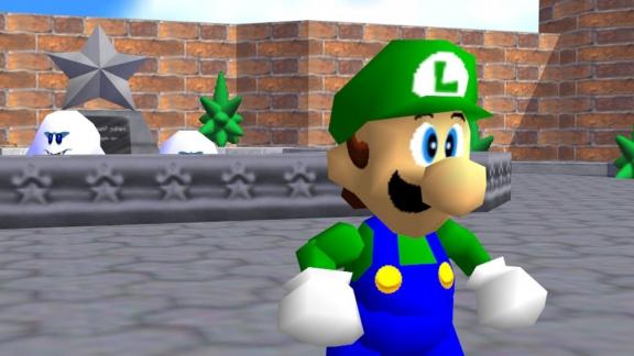 Fanoušci po čtvrtstoletí objevili Luigiho v Super Mario 64