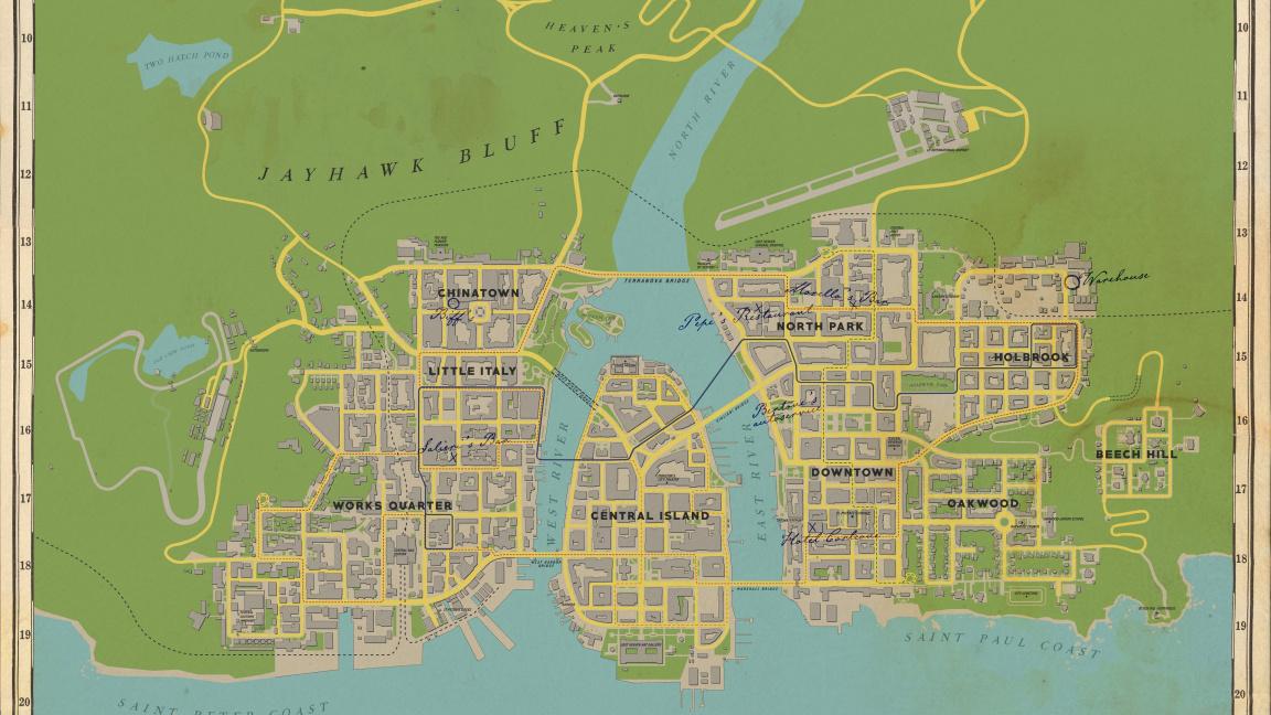 Vývojáři výrazně změnili mapu remakované Mafie
