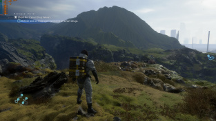 Death Stranding PC – DLSS off