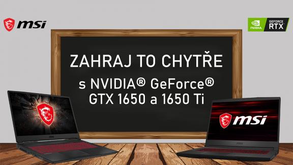 Zahraj to chytře s Nvidia GeForce GTX 1650 a 1650 Ti