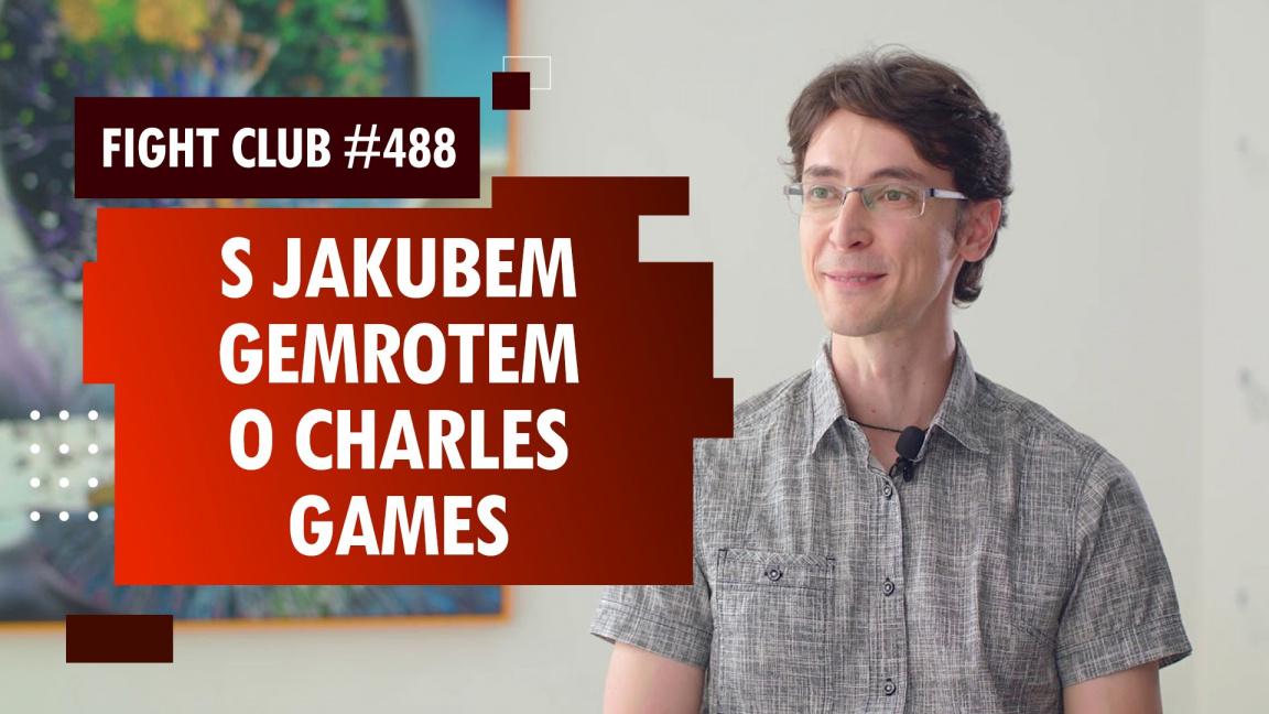 Sledujte Fight Club #488 s Kubou Gemrotem z Charles Games o Attentatu