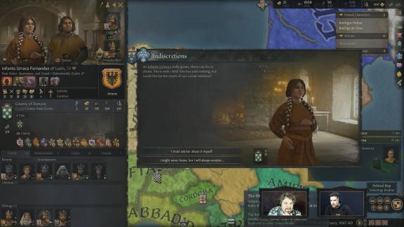 Incest během 10 minut: Sledujte první záběry z Crusader Kings 3