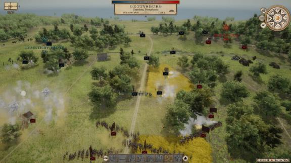 Nová strategie připomíná Total War z americké občanské války