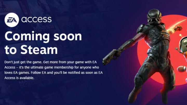 První předplatné na Steamu, EA Access, je za dveřmi
