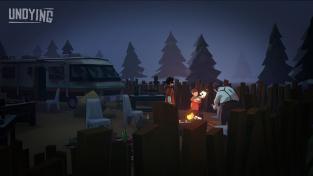 V survivalu Undying musíte svého syna naučit přežívat, než podlehnete kousnutí zombíka