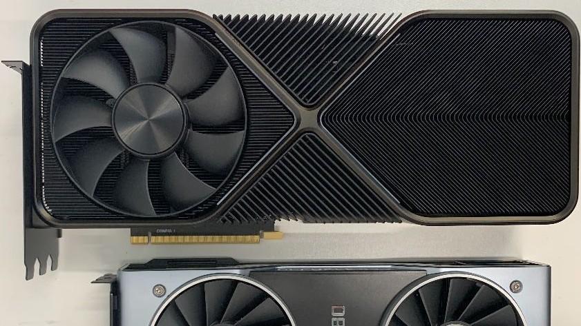 Takhle by měla vypadat nová GeForce RTX 3090. Gigantické rozměry, snad i 12pinový konektor