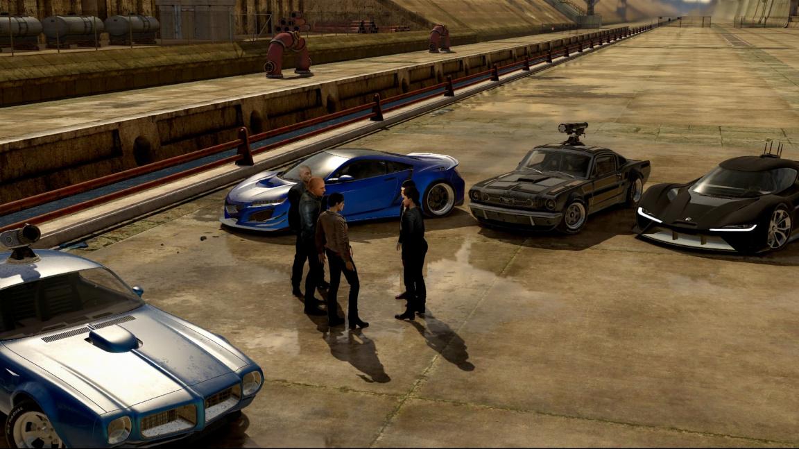 Fast & Furious Crossroads – nová hra podle Rychle a zběsile je hrozná