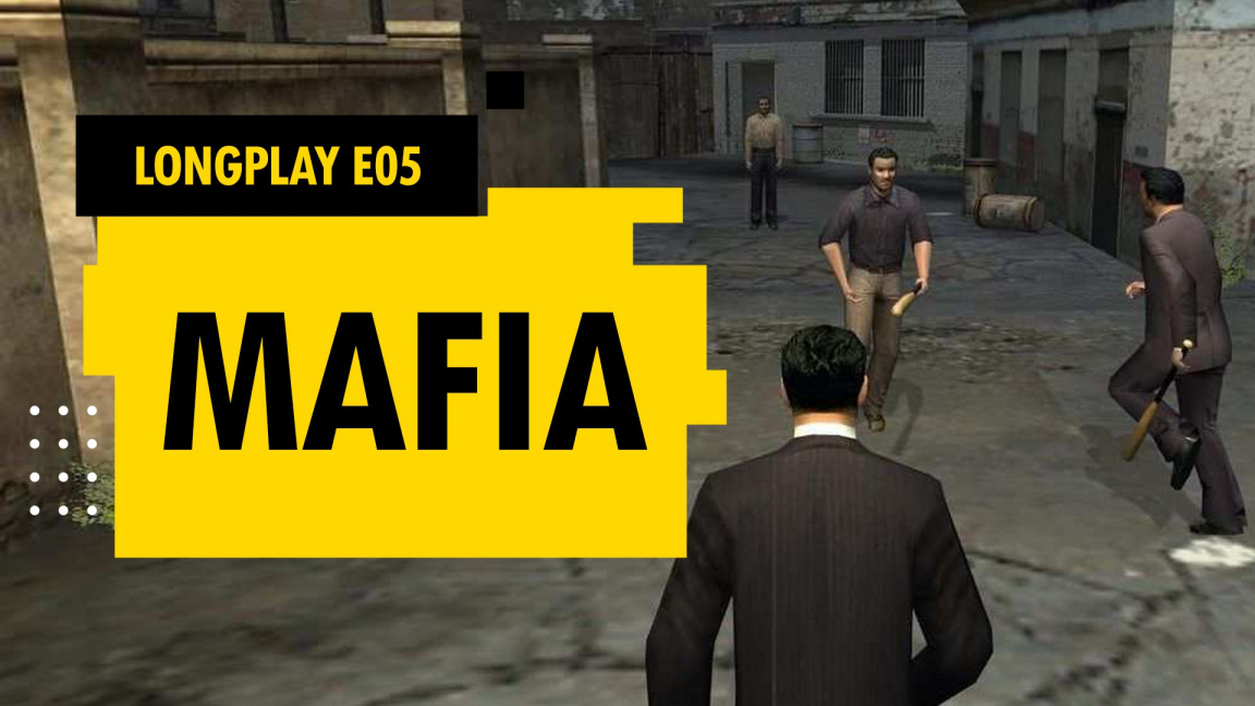 Sledujte pátou epizodu LongPlaye Mafia: The City of Lost Heaven od 14:00