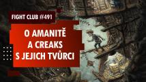 Fight Club #491 o Creaks a Amanitě s Radimem Jurdou a Honzou Chlupem