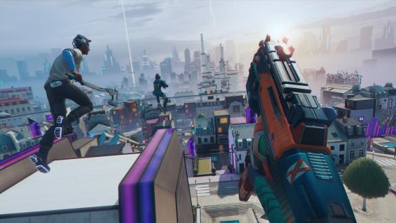 Hyper Scape: Nová battle royale od Ubisoftu bude za tři roky skvělá