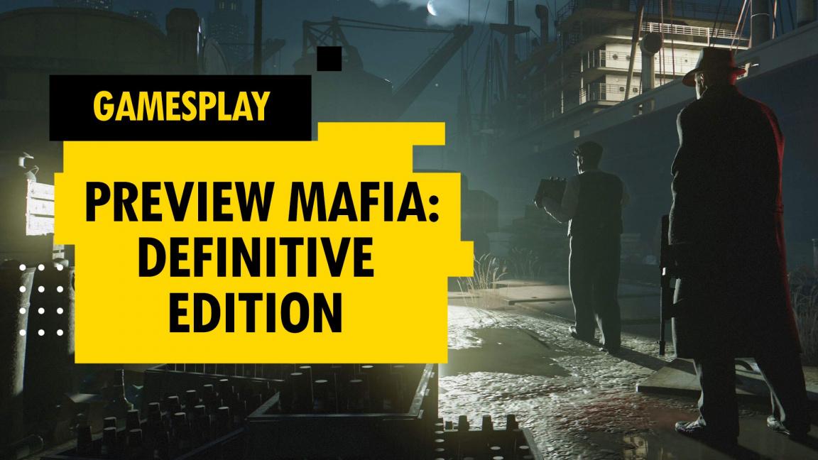 GamesPlay – hrajeme preview Mafia: Definitive Edition
