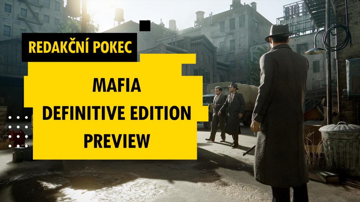 Redakční pokec: Dojmy z preview Mafia: Definitive Edition