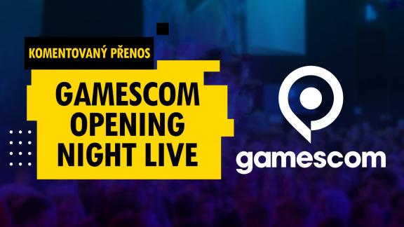 Sledujte v 19:30 živě přenos Gamescom Opening Night Live s českým komentářem