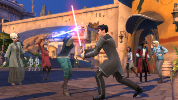 The Sims 4 - Star Wars: Výprava na Batuu