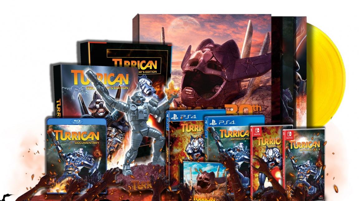 Legendární Turrican vyjde v limitované kompletní edici na PlayStationu 4 a Switchi