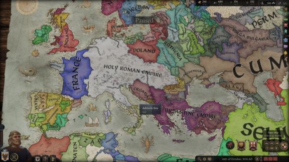 Crusader Kings 3 mají nejlepší mapu všech dob