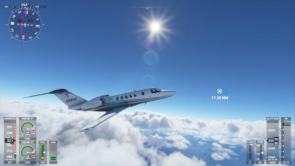 HW test Microsoft Flight Simulatoru 2020. Je tady nový Crysis?