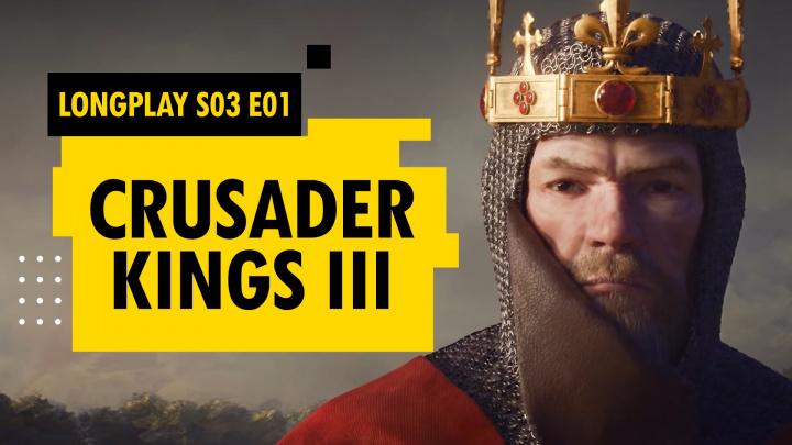 LongPlay Crusader Kings III - S03E01 - Postrach Evropy se vrací!