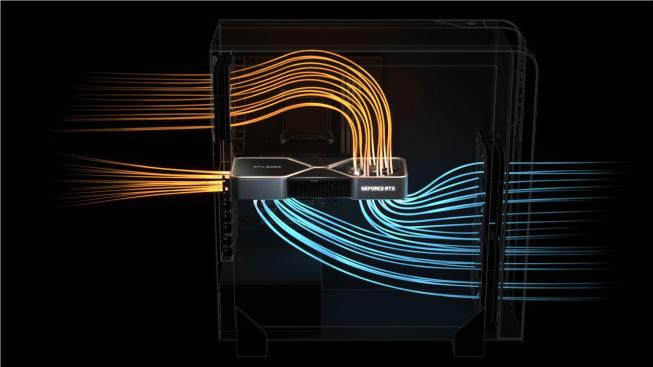 Nový chladič Founders Edition generace Ampere