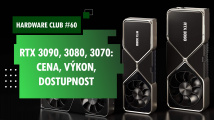 Hardware Club #60: Nové grafické karty RTX 3000 - cena, výkon, dostupnost